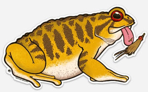 Smallmouth Toad Decal - East Rosebud Fly & Tackle