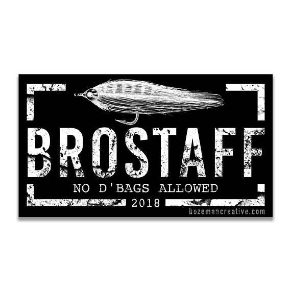 Brostaff Sticker