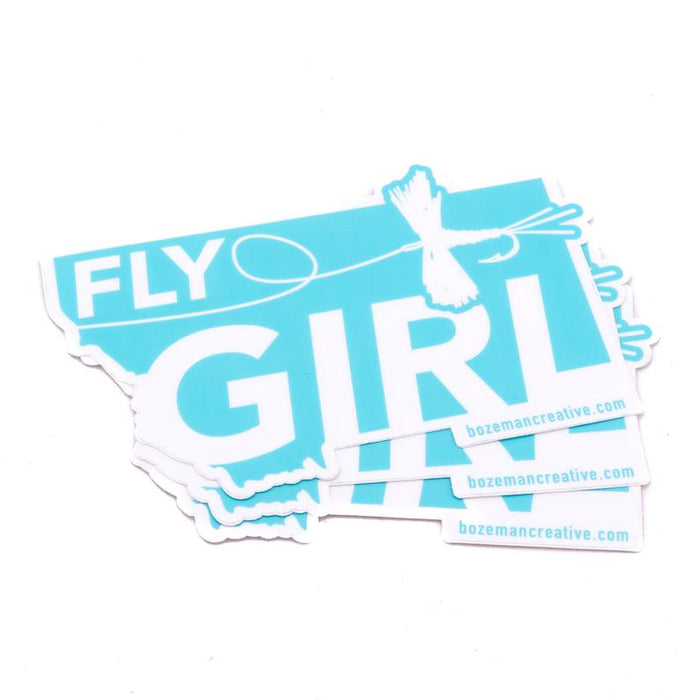 Fly Girl Sticker