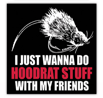 Hoodrat Stuff Sticker