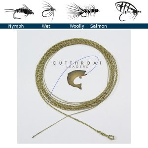 "50"" Nymph Furled Leader - East Rosebud Fly & Tackle - Free Shipping, No Sales Tax"