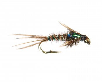 Flashback Green Pheasant Tail - East Rosebud Fly & Tackle