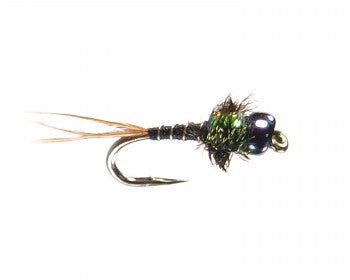 Glass Bead Quill Nymph Fly