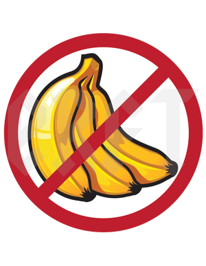 ERFT No Bananas Sticker - East Rosebud Fly & Tackle