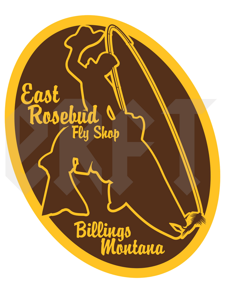 ERFT 307 Sticker - East Rosebud Fly & Tackle - Free Shipping, No Sales Tax