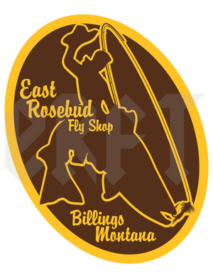 East Rosebud Fly and Tackle 307 Sticker