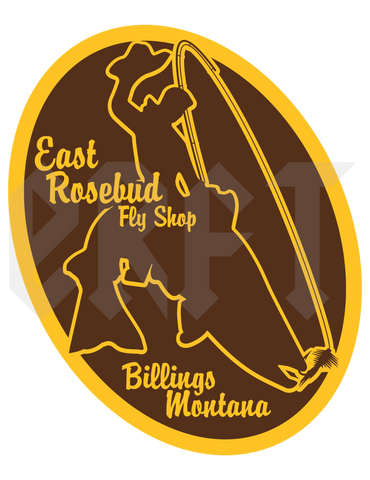ERFT 307 Sticker - East Rosebud Fly & Tackle