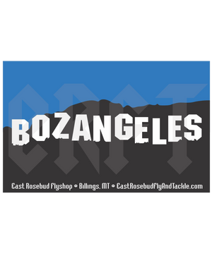 ERFT Bozangeles Sticker - East Rosebud Fly & Tackle - Free Shipping, No Sales Tax