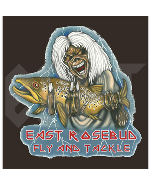 ERFT Deddie 1.0 Sticker - East Rosebud Fly & Tackle