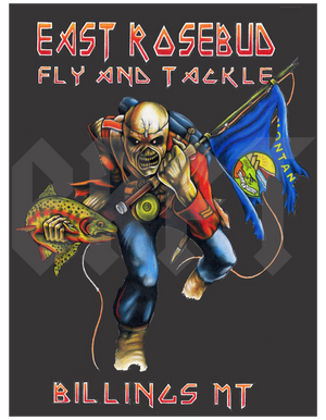 ERFT Deddie 3.0 Sticker - East Rosebud Fly & Tackle