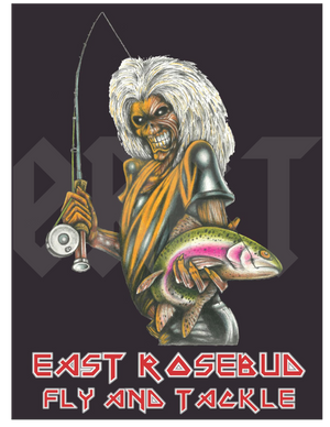 ERFT Deddie 2.0 Sticker - East Rosebud Fly & Tackle