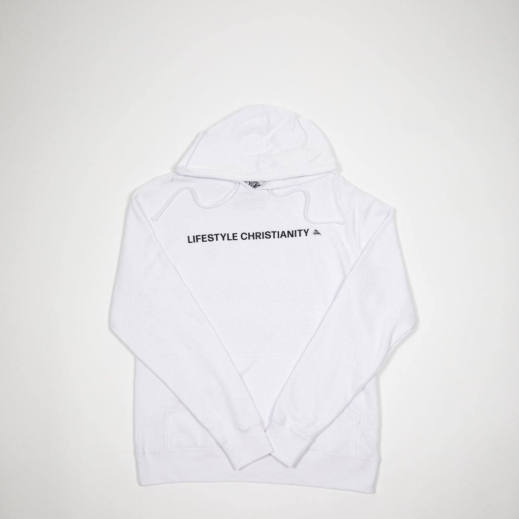 White LC Hoodie