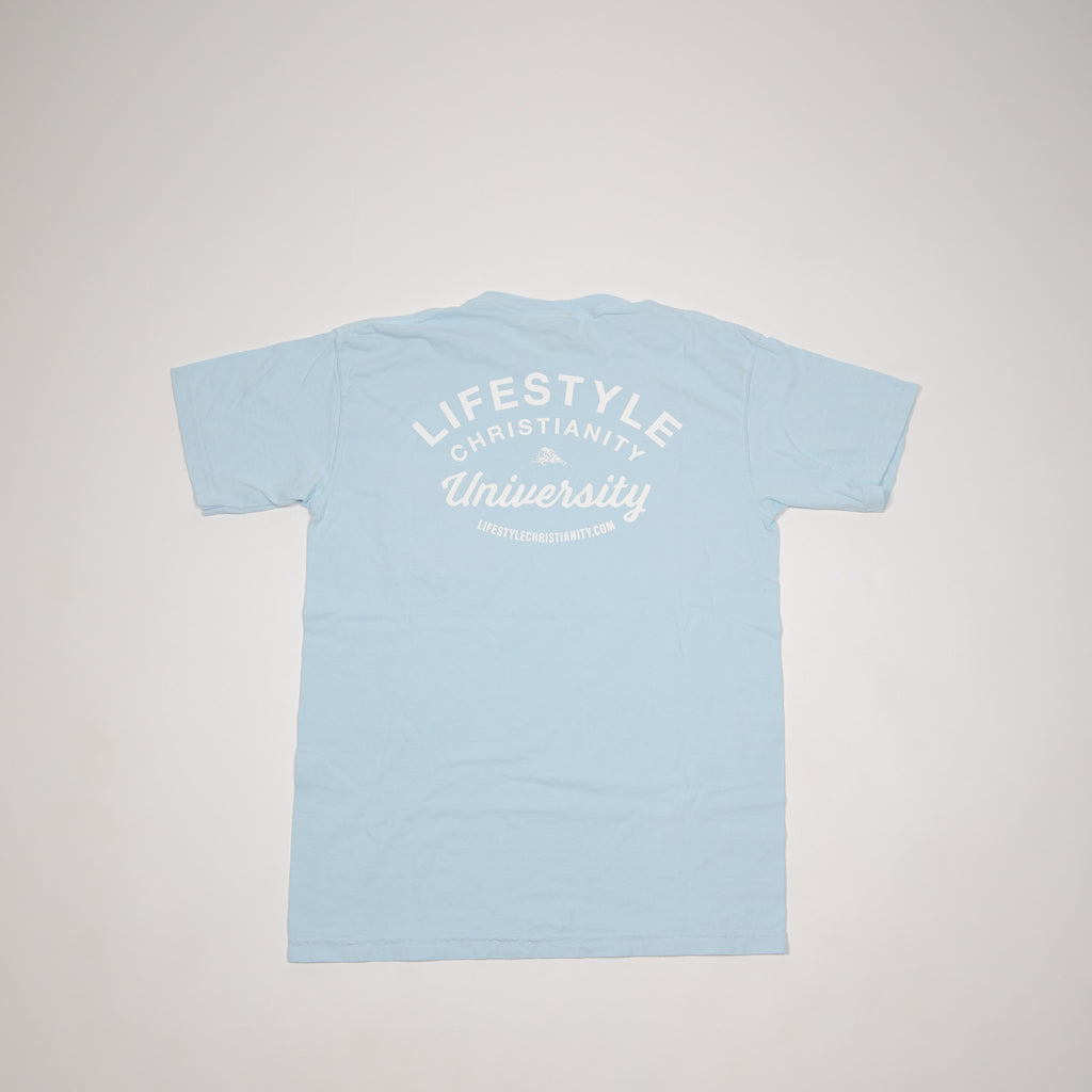 Light Blue LCU Pocket Tee