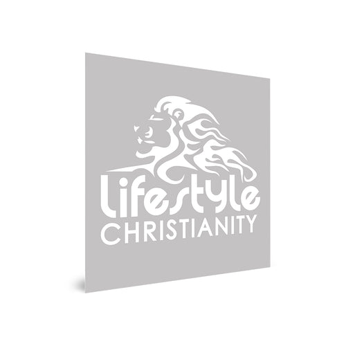 Lifestyle Christianity Decal Sticker