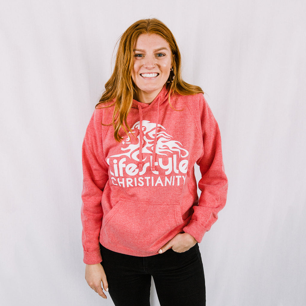 Lifestyle Christianity Pink Hoodie