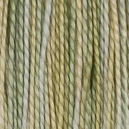 House of Embroidery + Sue Spargo Hand Dyed Threads - 25C Lemon Lime