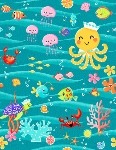 Enchanted Seas Fabrics - Patrick Lose - PreOrder, Expected November 2021