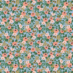Rifle Paper Co.'s Garden Party - Rosa Chambray Metallic -  PreOrder, Arrives February/Mar - DELAYED UNTIL MAYch 2021