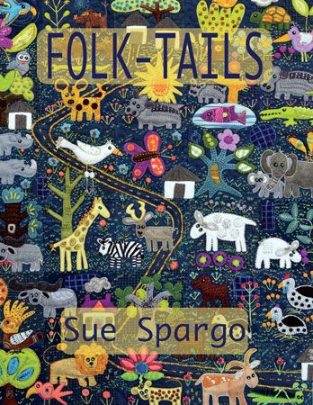 Folk-Tails  - Wool Felt Applique - Sue Spargo