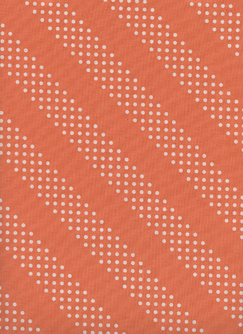 Cotton and Steel Basics - Dottie Tangerine
