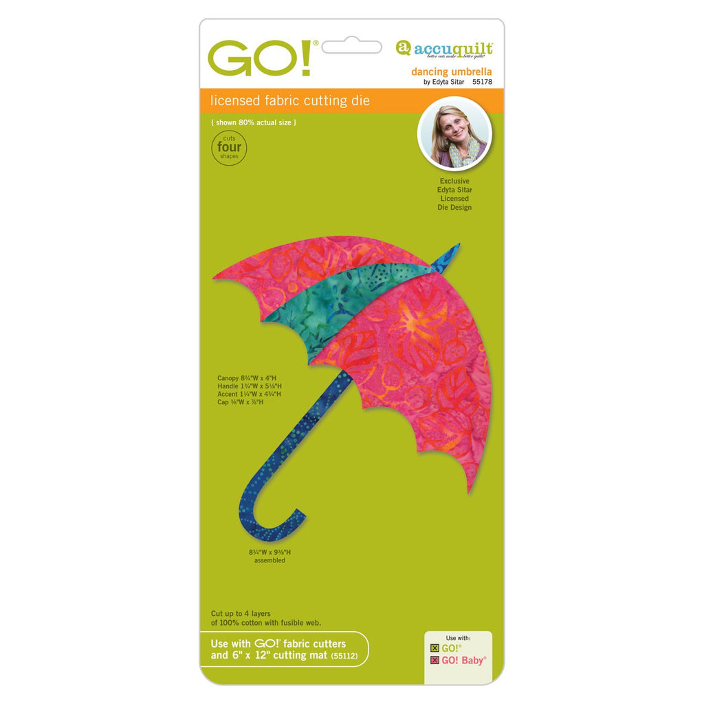 Go! Dancing Umbrella Die