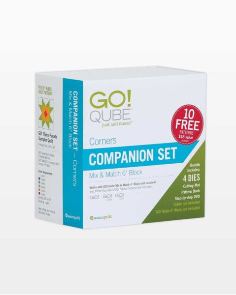 "Go! QUBE Companion Set - Corners - 6"" Block"