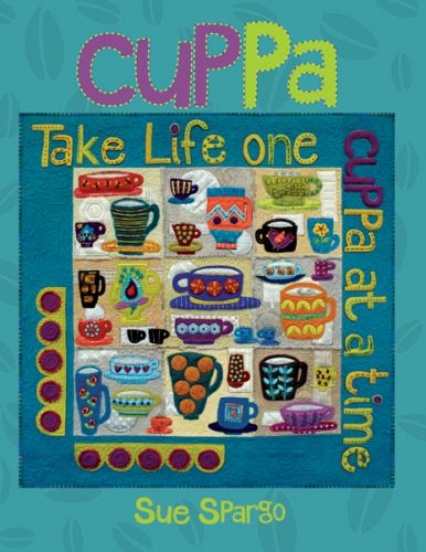 Cuppa  - Wool Felt Applique - Sue Spargo