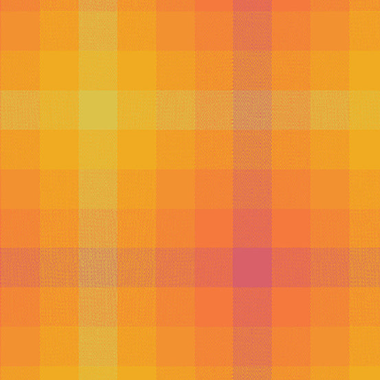 Alison Glass Kaleidoscope Plaid Marmalade