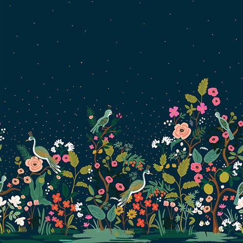 Rifle Paper Co.'s English Garden - Growing Garden Navy