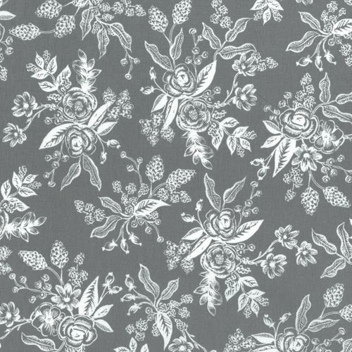 Rifle Paper Co.'s English Garden - Floral Toile Grey