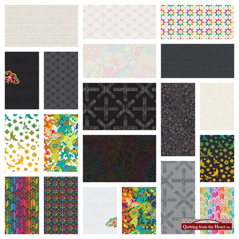 Alison Glass Art Theory - 20 Fabric Bundle