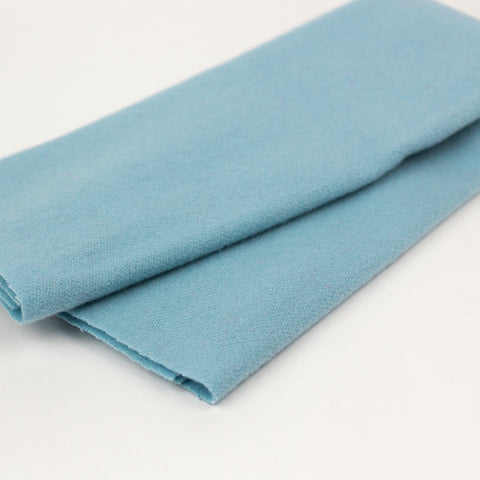 Sue Spargo Wool Fabric - Baby Blue - Fat 1/8th