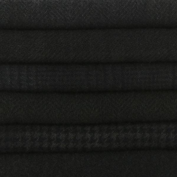 Sue Spargo Textural Wool Bundle -- Black