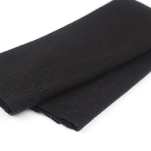 Sue Spargo Wool Fabric - Black - Fat 1/8th