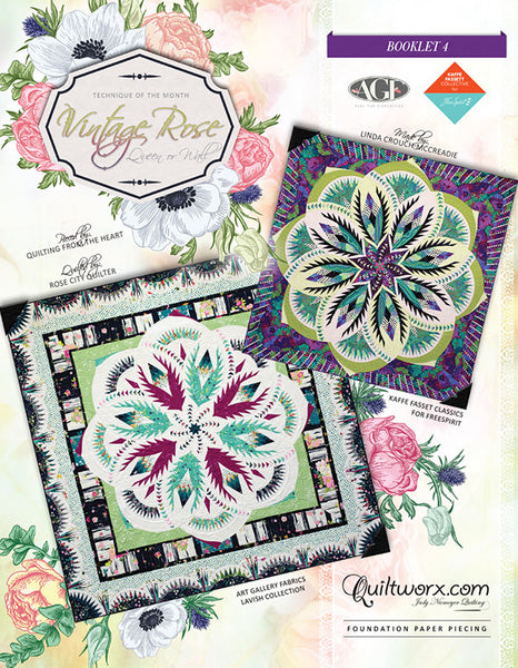 Vintage Rose Queen Pattern