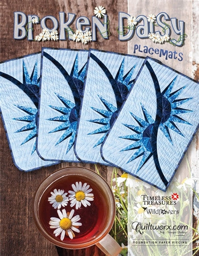 Broken Daisy Placemats Pattern
