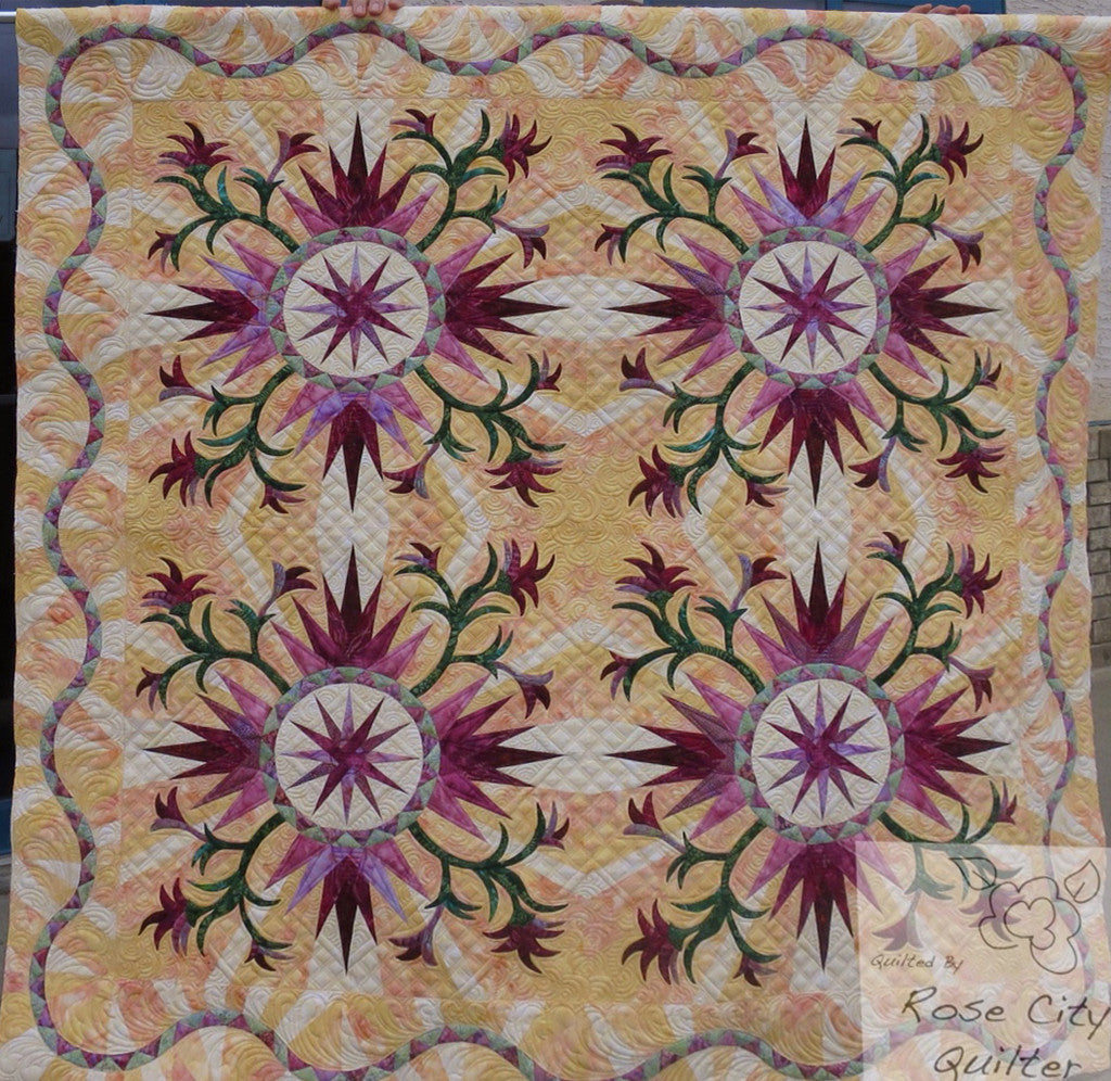 Cactus Rose Quilt Kit