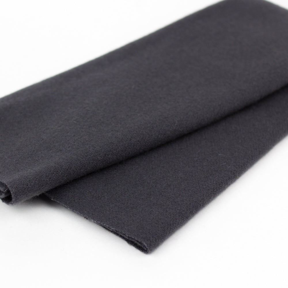 Sue Spargo Wool Fabric - Charcoal - Fat 1/8th