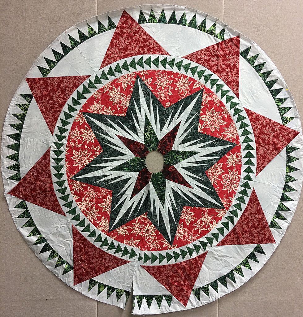 Christmas Celebration Tree Skirt Kit
