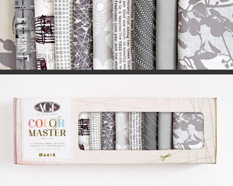 AGF Colour Masters - Clean Slate Fat Quarters
