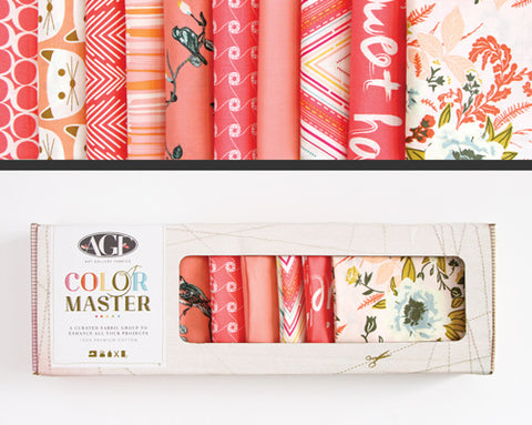 AGF Colour Masters - Coraline Fat Quarters