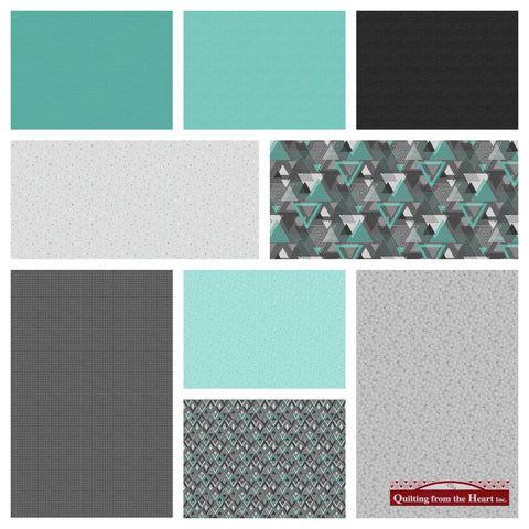 Cosmo Oxygen Fabric Bundle - Pre-Order, Arrives January 2020