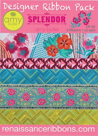 Designer Ribbon Pack - Amy Butler Splendor