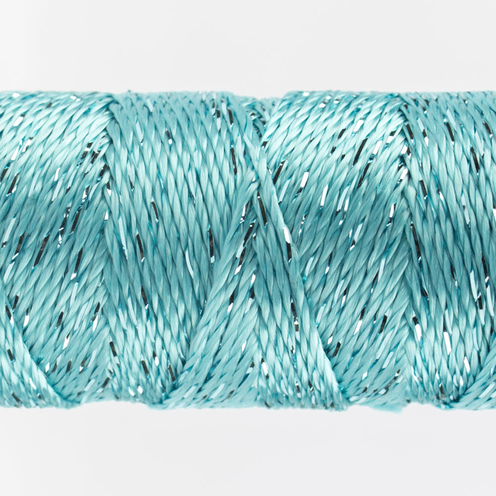 Sue Spargo Dazzle - 100% Rayon Thread - DZ3130- Aqua Sea
