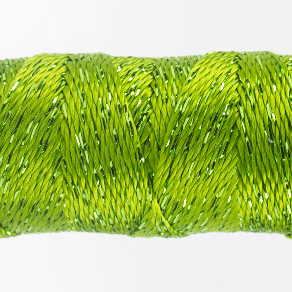 Sue Spargo Dazzle - 100% Rayon Thread - DZ4146- Greenery