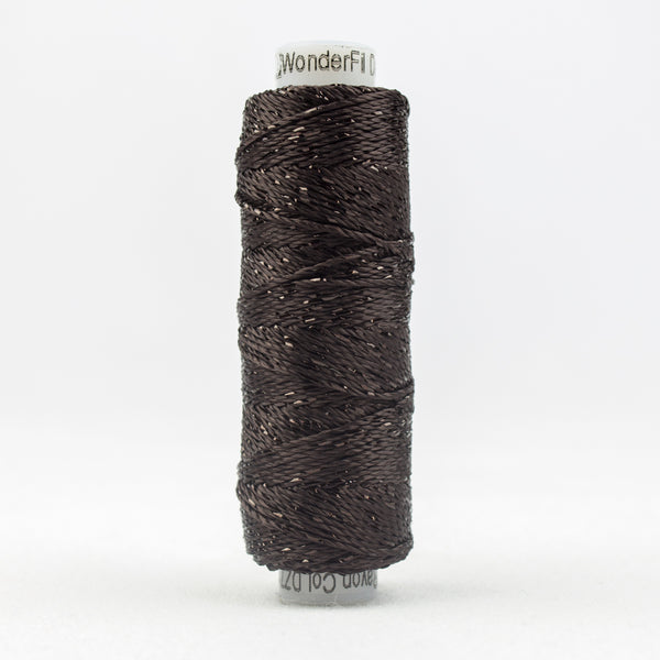 Sue Spargo Dazzle - 100% Rayon Thread - DZ7125 - Licorice