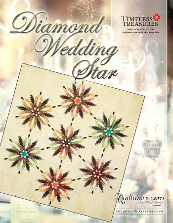 Diamond Wedding Star Quilt Pattern