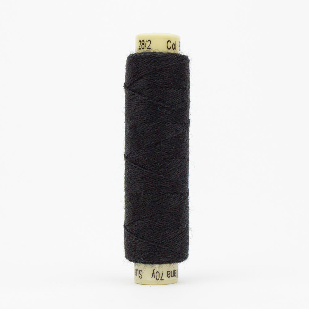 Ellana Wool Thread - Sue Spargo - Black