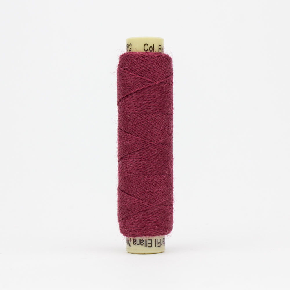 Ellana Wool Thread - Sue Spargo - Dark Cerise