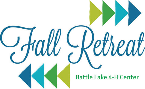 Fall Retreat --  November 9- 11, 2018 Optional Thursday November 8